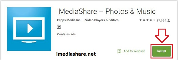 download imediashare apk for android