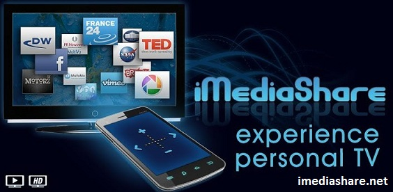 steps to use iMediashare App on phone to TV