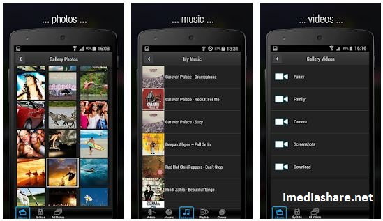 iMediaShare Download App for Android iPhone iPad
