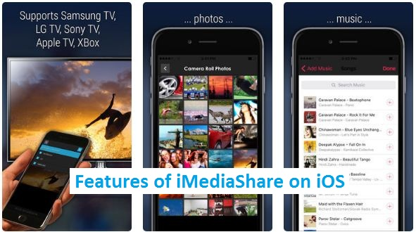 iMediaShare for iPhone iPad iOS App Download
